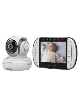 Motorola 3.5 Digital Video Baby Monitor White