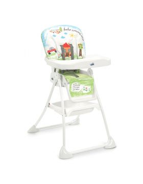 Cam Mini Plus High Chair Green House