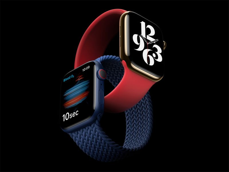 The new Apple Watch Series 6 features a revolutionary Blood Oxygen sensor and app