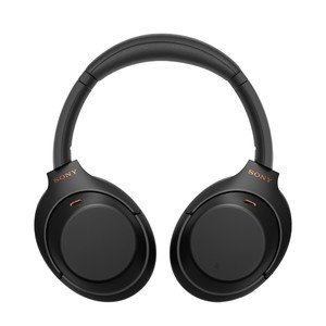 Sony WH-1000XM4 Black On-Ear Bluetooth Headphones with Noise Cancellation