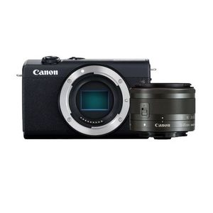 Canon EOS M200 Compact Mirrorless Digital Camera MILC 24.1 MP/CMOS/6000 x 4000/Pixels Black