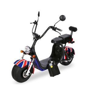 Crony Big Harley 2020 Flag + BT Speaker 1500W Double Seater Electric Motorcycle
