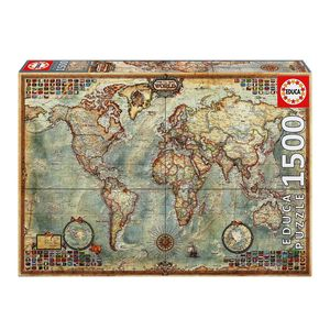 Educa Political Map of the World 1500 PCs Jigsaw Puzzle