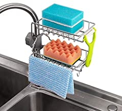 UniHome Stainless Steel Kitchen Faucet Sponge Holder