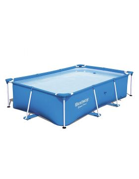 Bestway Steel Pro Rectangular Frame Pool 221cm x 150cm x 43cm