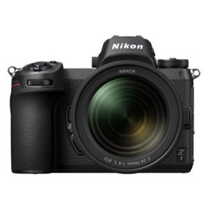Nikon Z7 Digital Mirrorless Camera Black+ 24-70MM F/4 Lens