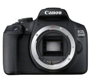 Canon EOS 2000D + EF-S 18-55mm f/3.5-5.6 III SLR Camera Kit