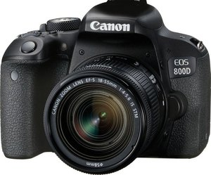 Canon EOS 800D DSLR Camera + EF-S 18-55mm IS STM