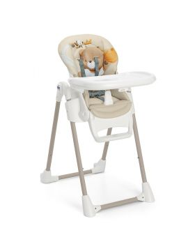 Cam Pappananna High Chair Bear Beige