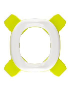 Roxy Kids-3 in 1 Handy Potty with Re-Usable Liner -Green/Orange