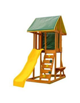 Kidkraft Meadowside II Slide Playset - Yellow