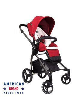 Evenflo Nuveu Full Size Stroller Red