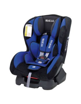 Sparco F500k Group 0-1 Car Seat Blue