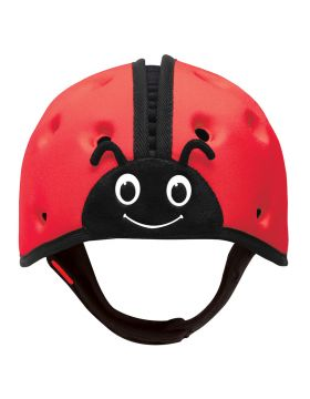 SafeheadBABY Soft Helmet for Babies Learning to Walk Ladybird Red