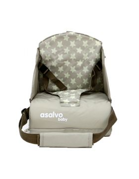 Asalvo Go Anywhere Booster Seat - Star Beige