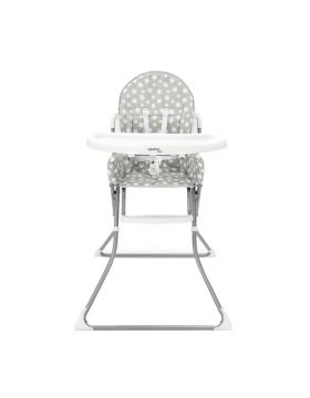 Asalvo High Chair Quick - Stars Grey