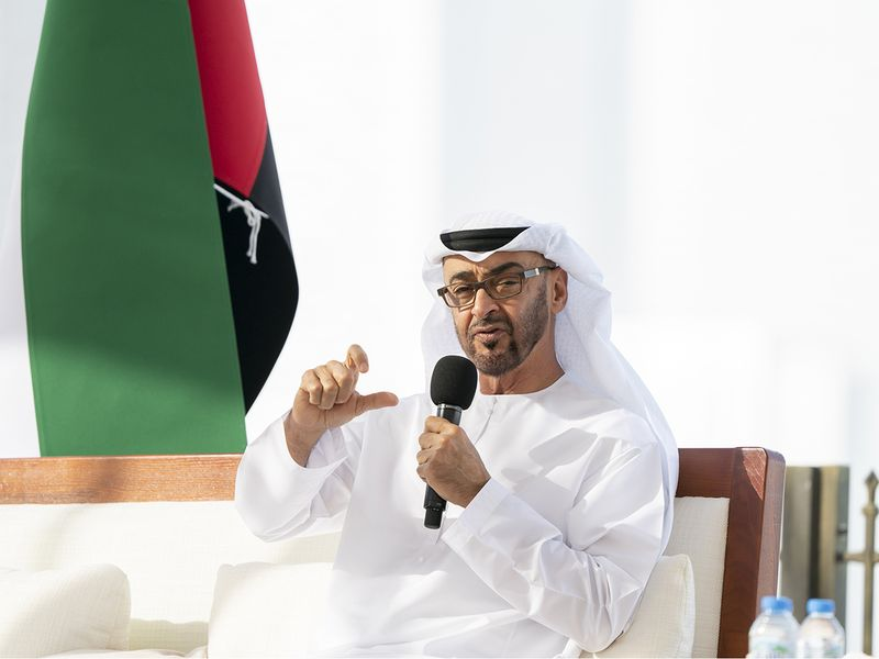 MOHAMED BIN ZAYED ANNOUNCES UAE'S DECISION TO OPEN CONSULATE IN LAAYOUNE
