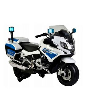 Little Angel - Motorcycle Toy BMW R1200RT-P Electric Ride On - White