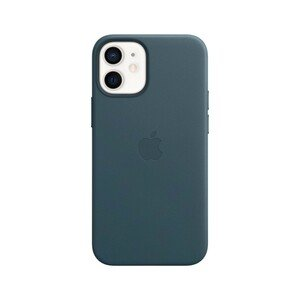 Apple Leather Case Baltic Blue with MagSafe for iPhone 12 Mini