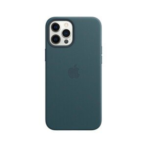 Apple Leather Case Baltic Blue with MagSafe for iPhone 12 Pro Max