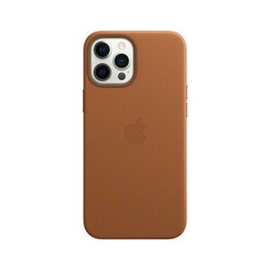 Apple Leather Case Saddle Brown with MagSafe for iPhone 12 Pro Max