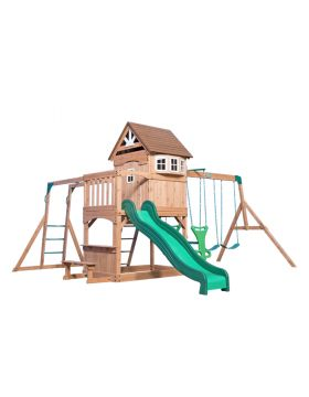 Backyard Discovery Montpelier Wooden Swing Set
