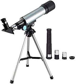 Beauenty Telescope Travel Scope 90 X Refractor Telescope Astronomy Telescope Tabletop Nature Exploration Toys for Kids Adults Sky Star Gazing Birds Watching