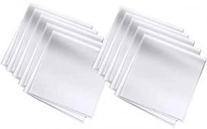 NEEMAY Microfiber Cleaning Cloths Screen Wipes10-Pack for Camera Lens