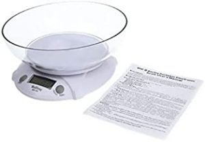 [H8972] Digital Electronic Kitchen Scales Parcel Food Weight with Bowl
