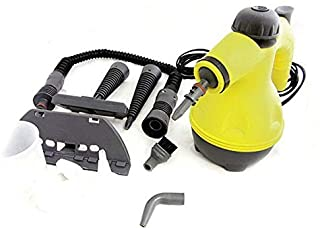 Beauenty منظف بخار HANDHELD 1000W PORTABLE STEAM CLEANER HAND HELD STEAMER STEAM CLEAN ATTACHMENT