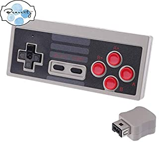 Beauenty 2.4GHz 5M Mini Wireless Gamepad Game Controller Receiver for NES Classic Edition