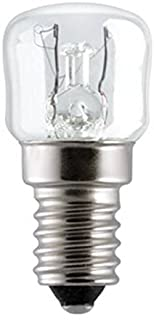 Royal Apex Tungsram 300 Degrees Celsius Bulb Pygmy Incandescent Lamp for Microwave Oven 15W E14 230V