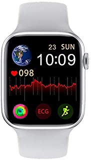 W26 Smart Watch Women Men 1.75 inch IP68 Waterproof Heart Rate Blood Pressure Monitor Bluetooth Call Smartwatch