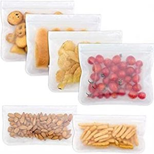 6 Reusable Food Storage Bag