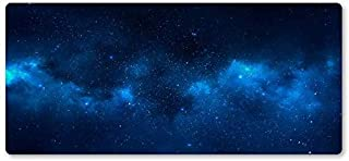 Mouse Pad Blue Star Mouse Pad Notebook PC Computer Game Mouse Lock Pads Large Carpet Mouse Laptop Keyboard Mouse Table Mats (Color : 700x300x2mm