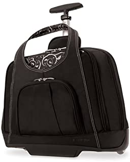 Kensington Contour Balance Notebook Roller Bag in Onyx One Size K62533US