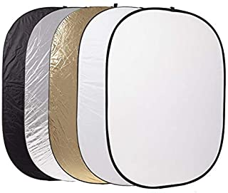 Beauenty for 24 x 36 inch 5 in 1 Portable Photography Studio Multi Photo Collapsible Light Reflector 60 x 90cm
