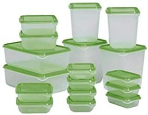 Transparent Food Containers - Set of 17 [FSO047]