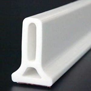 Silicone Strip Shower Collapsible Bathroom Floor Kitchen Seal Screen Door Seal Strip Self Adhesive