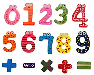 Baby Kid Number Fridge Teaching Magnetic Children Magnet Toy Letter Alphabet 15x