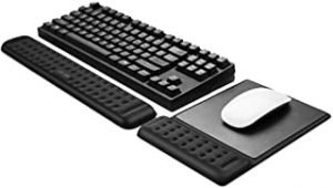 Memory Foam Keyboard Wrist Rest Pad and Mouse Pad with Wrist Rest