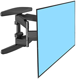Full Motion TV Wall Mount for Most 32-60 Inches LED LCD Computer Monitors and TVs,Adjustable Tilting