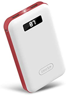 iMuto 20000mAh Portable Charger Compact Power Bank External Battery Pack with LED Digital Display &Smart Charge