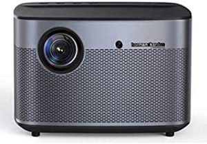 XGIMI H2 1080P Full HD Smart Projector 1350 ANSI lumens 3D Home Video Theater Projector Support 2K/4K with Android System WiFi Bluetooth Beamer Harman/Kardon Speaker