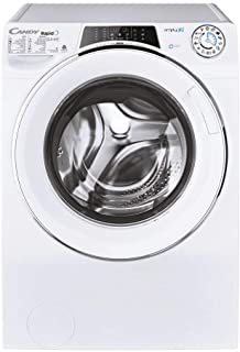 Candy Washer Dryer Rapido 12.5Kg wash + 9Kg dry -1400rpm - White - Wifi+BT - Steam - Class AAA - 6Digit Display - ROW412596DWMC-19