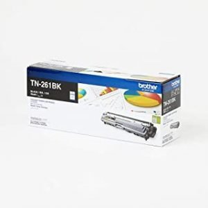 Brother Genuine TN-261BK Standard Yield Black Ink Printer Toner Cartridge