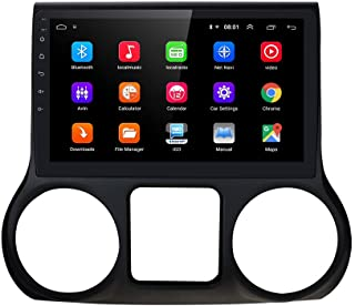 Android 10 OS 10.1 inch Video Player Auto-Navigation Car Radio Bluetooth WiFi for JEEP Wrangler 2011 2012 2013 2014(2G RAM 64G ROM)