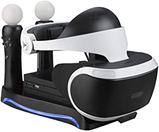 For PSVR PS4 VR PS VR Headset CUH-ZVR2 2th Generation PS Move Charging Station Display Stand Showcase Storage Holder Cool Charge