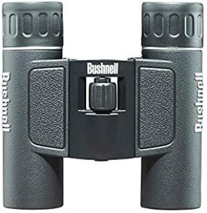 Bushnell Poweview All Purpose Compact Binocular 131225 Pouch and Strap Included Bak-7 Roof Prisms