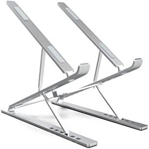 "ElfAnt Laptop Stand Adjustable Portable Aluminum for 10"" - 17"" Laptop Tablet"